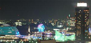 神戸市役所からの夜景★ハーバーランド