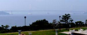 アナガから見た大鳴門橋