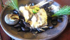鯛とサザエの宝楽焼