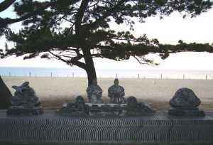 慶野松原 おじいさん・おばあさんの像