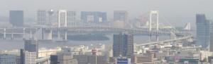 東京タワーから見たお台場