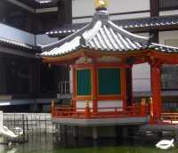 聖徳太子の水浴び★池坊