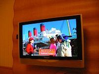 ホテルオークラ東京ベイ・液晶TV