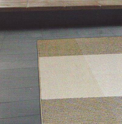 手織りのラグ、ボローニャ‐ベージュ