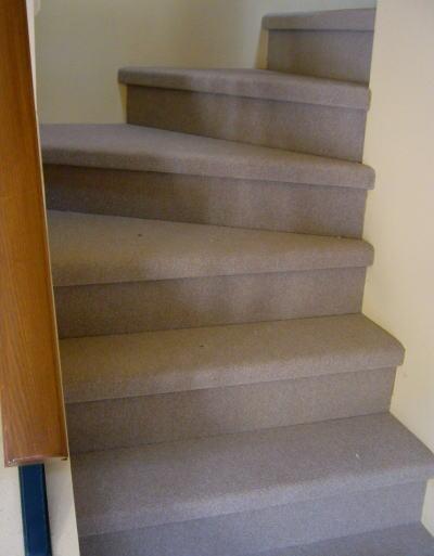 階段のカーペット張り替え工事