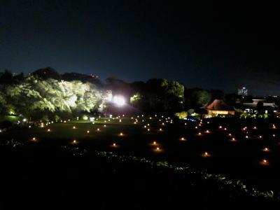 岡山後楽園ライトアップ「幻想庭園」
