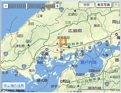 東広島地図
