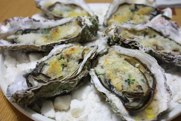 牡蠣のイタリアン焼き