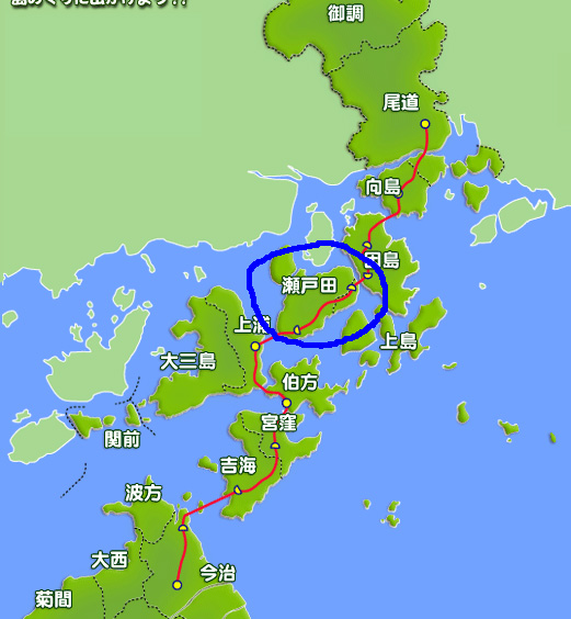 瀬戸田地図