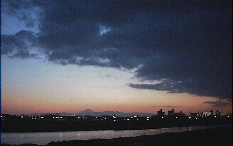 2005/3/19 ひさしぶりの夕暮れ