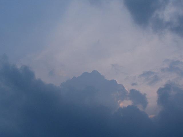 2005/9/4 夕暮れの空