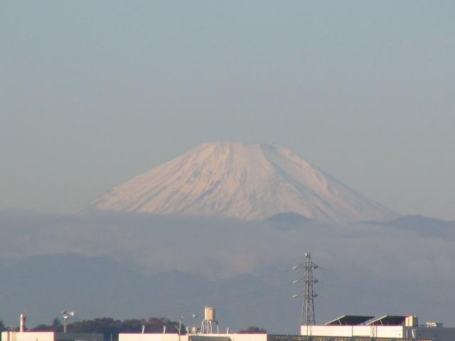 2005/11/6 もう雪の富士山