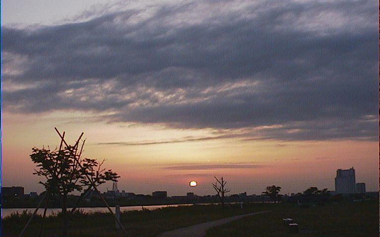 2005/5/11 夕日
