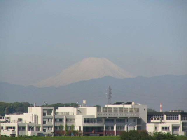 2005/4/23 朝の富士山