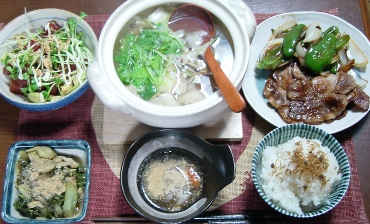 健康晩ご飯