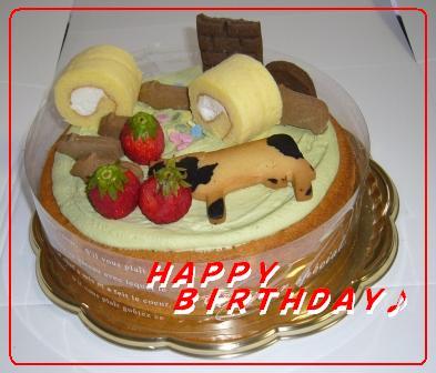 完成したケーキ♪.JPG