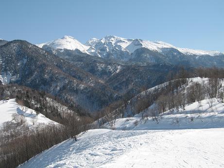 朴の木スキー場 2月