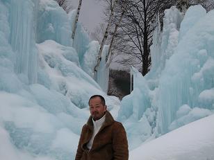 氷点下の森にて