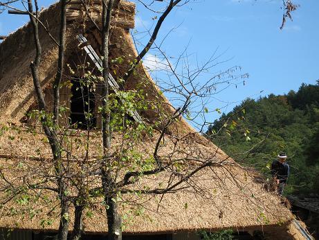 飛騨の里 屋根