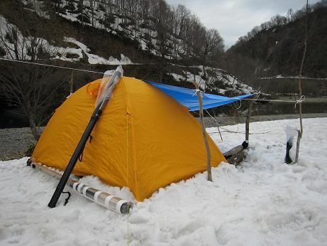 大鳥ダム テントでの2泊