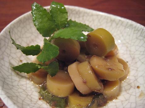 チシマ笹の子 山椒煮