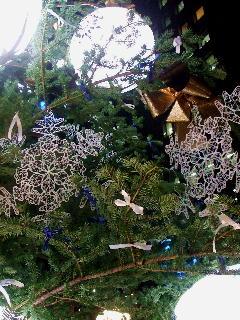 ウィーンのクリスマスツリー