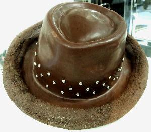 2008チョコの帽子