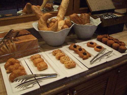 リッツカールトン クラブラウンジ 朝食