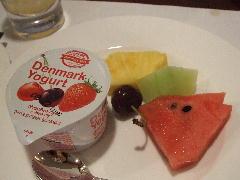 朝食 ヨーグルト