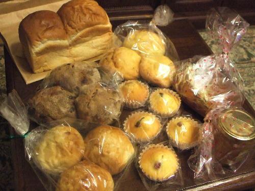 贈り物に届いたパン