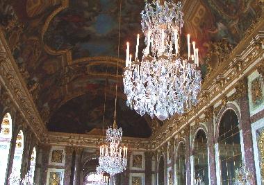 20060811 ヴェルサイユ宮殿 鏡の間