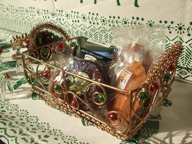 20061223タダシヤナギの焼き菓子ディスプレイ