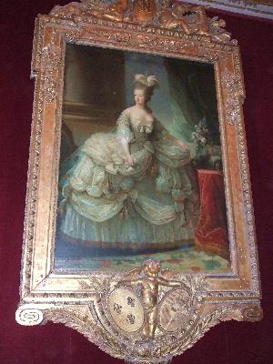 20060811 ヴェルサイユ宮殿にて 王妃の肖像画