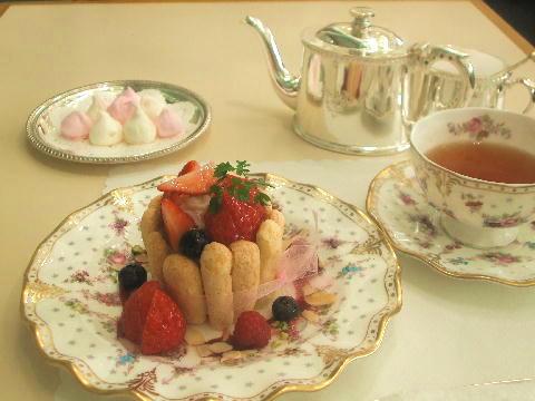 お姫様のお茶会