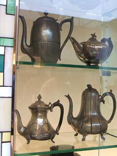 ルピシア 茶器の展示