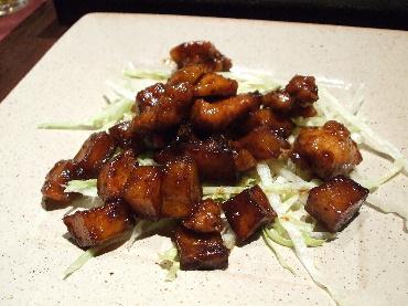 20070113神戸 天府 鶏肉の甜麺醤炒め