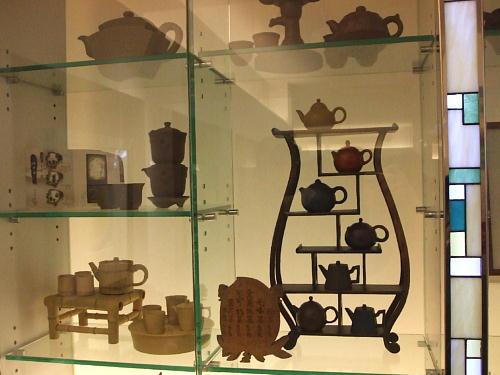 茶器の展示s