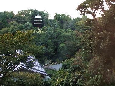 フォーシーズンズホテル椿山荘東京の日本庭園 20061113