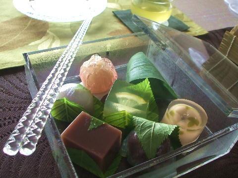 夏の和菓子