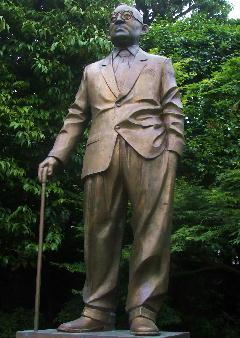 鳩山一郎・像