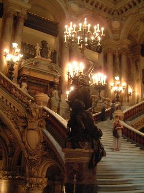 2004 パリ・オペラ座内部見学