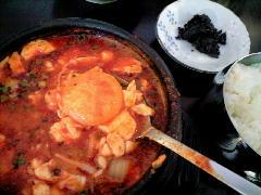 20090203 純豆腐チゲ