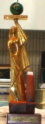 20070201 クープ・ド・モンド優勝トロフィー