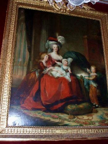 マリー・アントワネットと子ども達