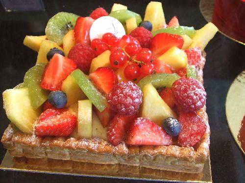 果物のパイ