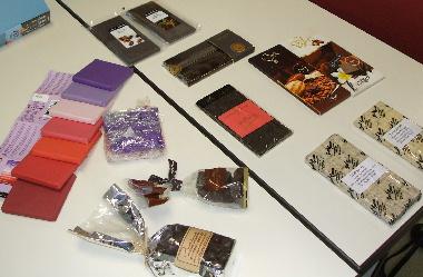20070204 平岩さんお土産チョコいろいろ