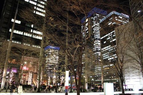 光都東京ビルの夜景