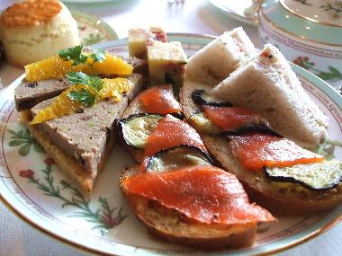 20061113 フォーシーズンズのサンドイッチ