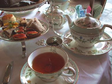 20061113 フォーシーズンズの紅茶