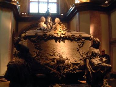 2004 カプツィーナ霊廟マリア・テレジアの棺